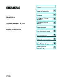 Inversor SINAMICS V20 - Industry