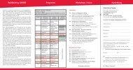 Workshops / Kurse Anmeldung Programm Ra(d)tschlag AD(H)S 