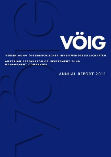 ANNUAL REPORT 2011 - VÖIG
