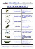 Download E-Catalog - Woken Technology Inc - Page 2