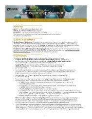 Undergraduate International Student Application Form (PDF)