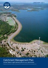 Catchment Management Plan - Hunter Water