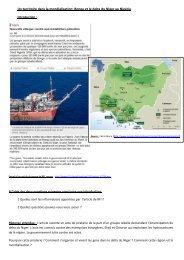 Bonga et le delta du Niger au Nigéria - Histoire géographie Dijon