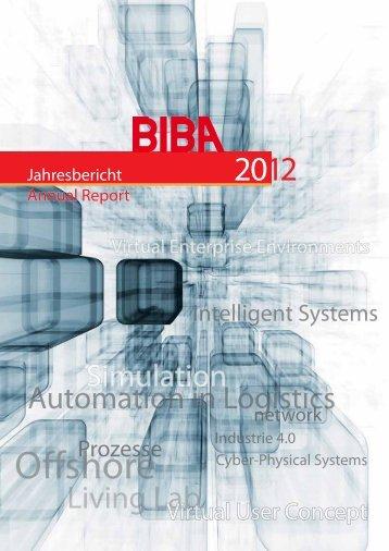 Jahresbericht 2012 - Biba - Universität Bremen