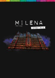 herbst 2012 - Milena Verlag