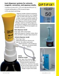 fortuna® polyfix - Delta Scientific Laboratory Products Ltd.