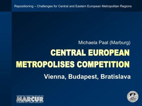 Vienna, Budapest, Bratislava - IRS