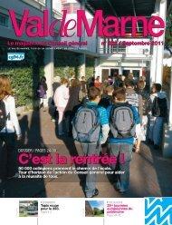ValdeMarne n°282 / Septembre 2011 - Conseil général du Val-de ...