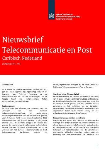 Nieuwsbrief 2 - Rijksdienst Caribisch Nederland