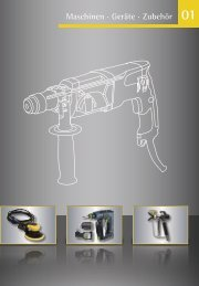 Maschinen · Geräte · Zubehör 01 - Werkzeugkatalog Geno