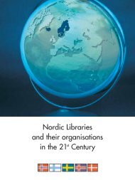 Nordic Libraries and their organisations in the 21st Century