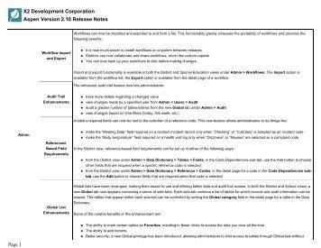 X2_v2_10_release_notes - Millbury Public Schools Community Portal