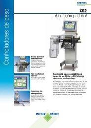 Controladores de peso - METTLER TOLEDO
