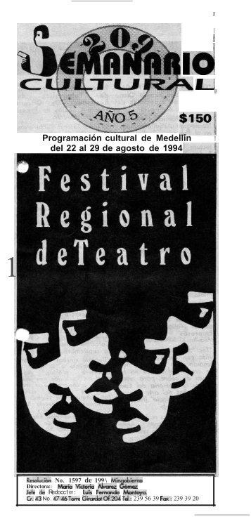 10 - Casa del Teatro de Medellín