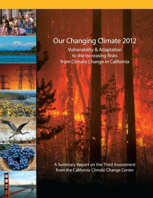 Our Changing Climate 2012 Vulnerability & Adaptation to the ...
