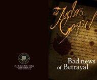 Judas Gospel - Far Eastern Bible College