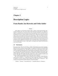 Description Logics - Department of Computer Science