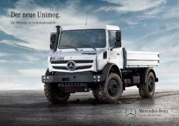 Der neue Unimog. - Mercedes-Benz Henne-Unimog GmbH