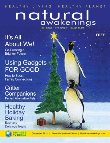 It's All About We! Using Gadgets FOR GOOD - Natural Awakenings