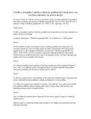 Uredba o postupku i načinu evidencije građana koji imaju pravo na ...