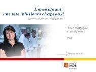 Prix en pédagogie et en enseignement REMUL 2009-2010 ...