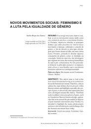 novos movimentos sociais - revista internacional direito e cidadania