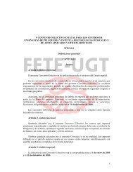 V Convenio texto y tablas salariales - FETE-UGT