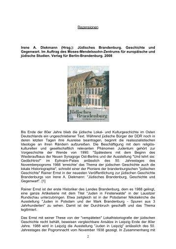JJIS. Journal Juden in Sachsen, Juni 2008, S - Verlag für Berlin ...