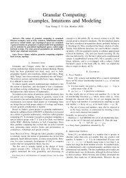 Granular Computing - Department of Computer Science - San Jose ...