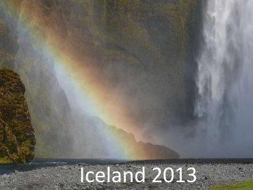 Iceland 2013 - KEGSNet