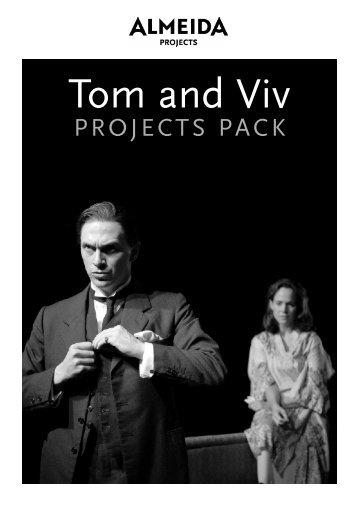 Tom and Viv - Almeida Theatre