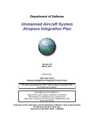 OSD UAS Airspace Integration Plan - AT&L