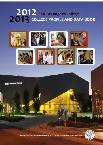 2012-2013 East Los Angeles College Profile