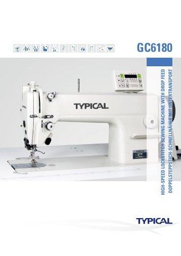 GC6180 - Masini Confectii Textile