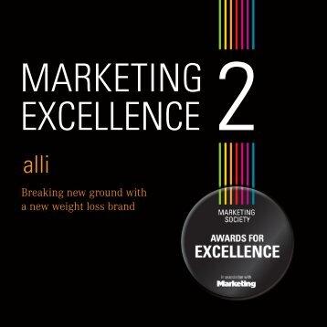 marketing excellence 2 alli case study.pdf - The Marketing Society