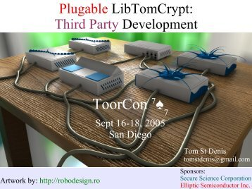 DUAL-CORE - LibTom Projects