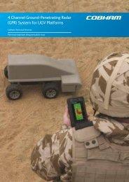 4 Channel Ground-Penetrating Radar (GPR) System ... - Cobham plc