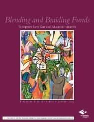 Blending and Braiding Funds - The Finance Project