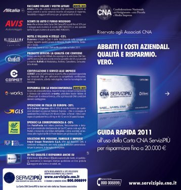 Ad - CNA Bari