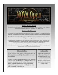 Open Primer Missions v2 - NOVA Open