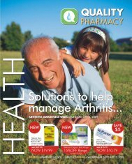 savings - Quality Pharmacy