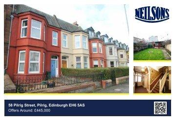 58 Pilrig Street, Pilrig, Edinburgh EH6 5AS Offers Around: £445,000
