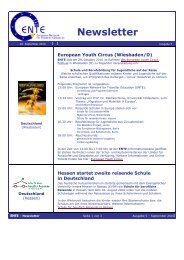 Oktober 2010 - ENTE - European Network for Traveller Education