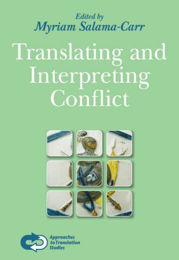 Translating and Interpreting Conflict - it's me