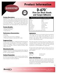2pg Template - Bostik, Inc