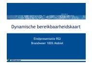 Dynamische bereikbaarheidskaart - NIFV