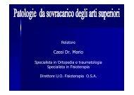 patologie da sovraccarico arti superiori - Asl Como