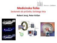 Medicinska fizika - F9 - IJS