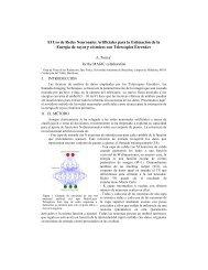 El Uso de Redes Neuronales Artificiales para la Estimación de la ...