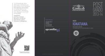 IGNATIANA - Universidad Pontificia Comillas